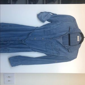 Anthropologie denim dress